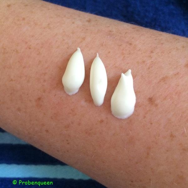 Eucerin Sun Lotion LSF 30 extra leicht auf der Haut Probenqueen