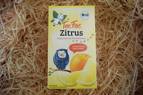 Brandnooz Genussbox September 2017 TeeFee Zitrus Probenqueen