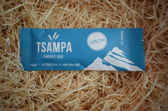 Brandnooz Genussbox September 2017 Tsampa bar Probenqueen