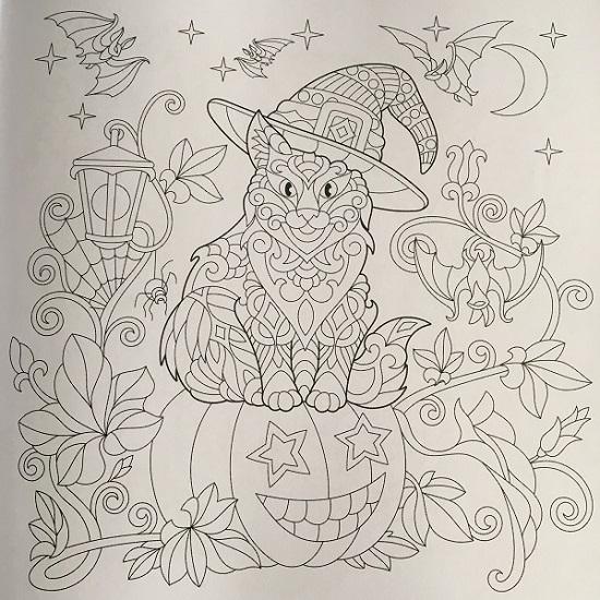 Happy Halloween mit BOSS Malbücher Motiv Katze Probenqueen