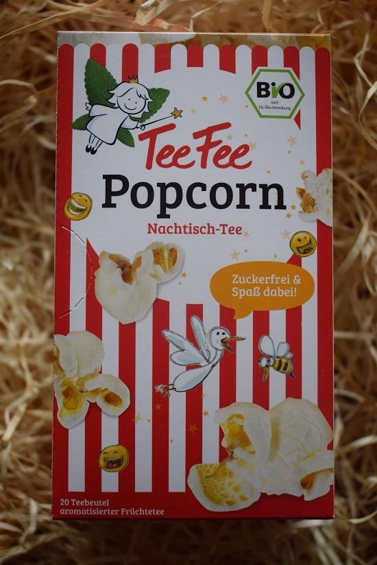 Brandnooz-Genussbox-November-2017 TeeFee Popcorn Tee Probenqueen