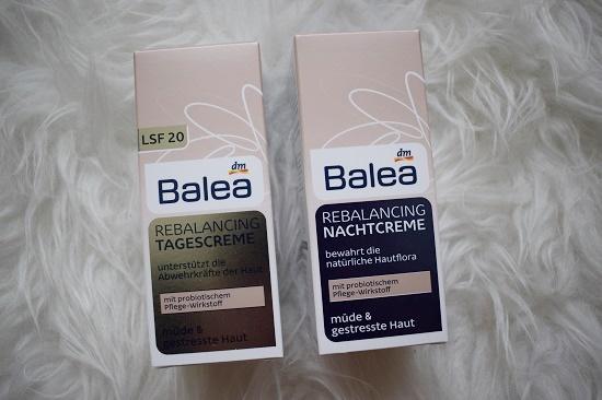 Pinkbox Metime Balea Rebalancing Tages- und Nachtcreme Probenqueen