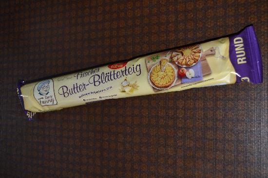 Brandnooz-Coolbox-Dezember Frischer Butter Blätterteig Probenqueen