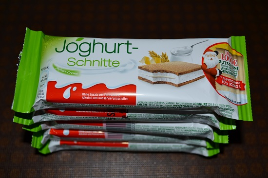 Brandnooz-Coolbox-Dezember Joghurt Schnitte Probenqueen