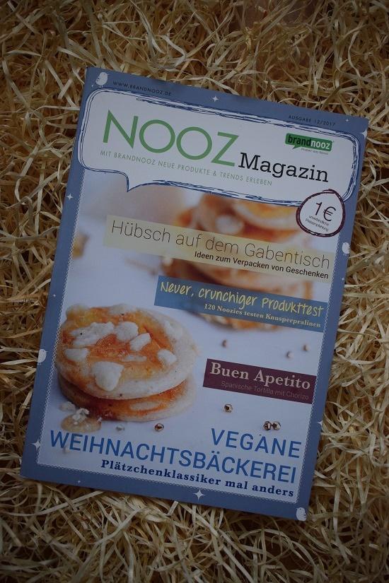 Brandnooz Genussbox Dezember Nooz Magazin Ausgabe 12/2017 Probenqueen
