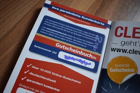Gutscheinbuch Bochum & Umgebung persönliche Kundenkarte Probenqueen