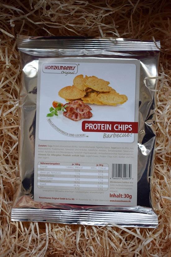 Genussbox Januar 2018 Unboxing Protein Chips Probenqueen