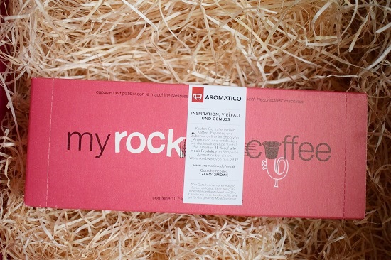 Genussbox Januar 2018 Unboxing My Rock Coffee Espresso Kapseln Probenqueen