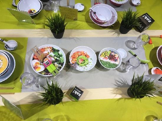 Ambiente 2018 Zak Designs gedeckter Tisch Probenqueen
