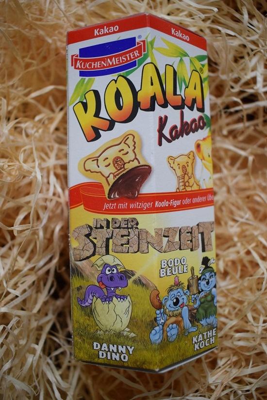 Packung Kuchenmeister Koala Kakao Kekse Edition Steinzeit