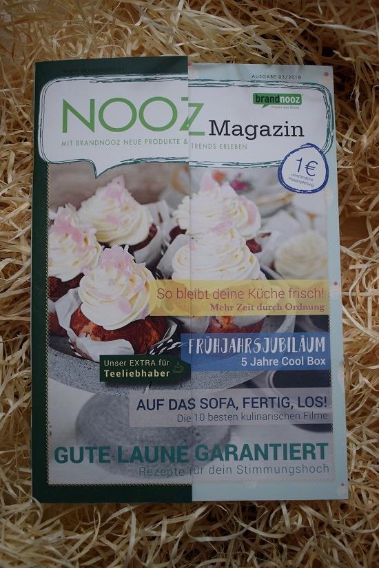 Nooz Magazin Ausgabe 3 des Jahres 2018 Cover