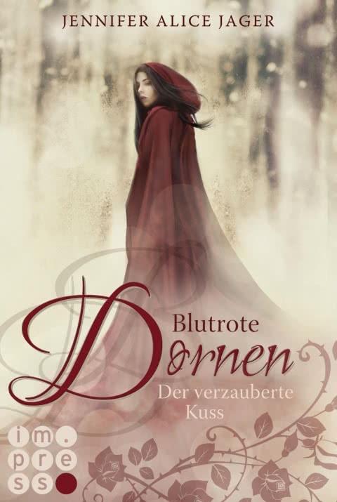Blutrote Dornen Der verzauberte Kuß farbiges Original Cover Probenqueen