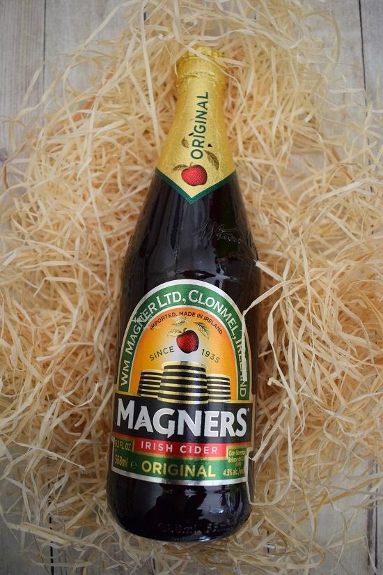 Brandnooz Genussbox Mai Flasche Magnes Cider Probenqueen