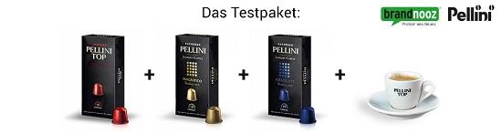 Pellini Produkttester Inhalt des Testpaketes www.probenqueen.de