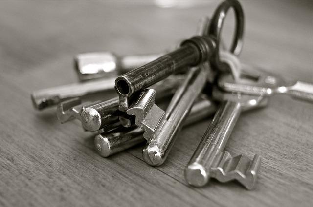 Wunderkey Schlüsselanhänger Photo mit vielen Schlüsseln durcheinander www.probenqueen.de