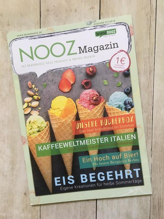 Brandnooz Box Juni 2018 Nooz Magazin 7.2018 www.probenqueen.de
