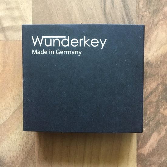 Wunderkey Schlüsselanhänger Verpackung www.probenqueen.de