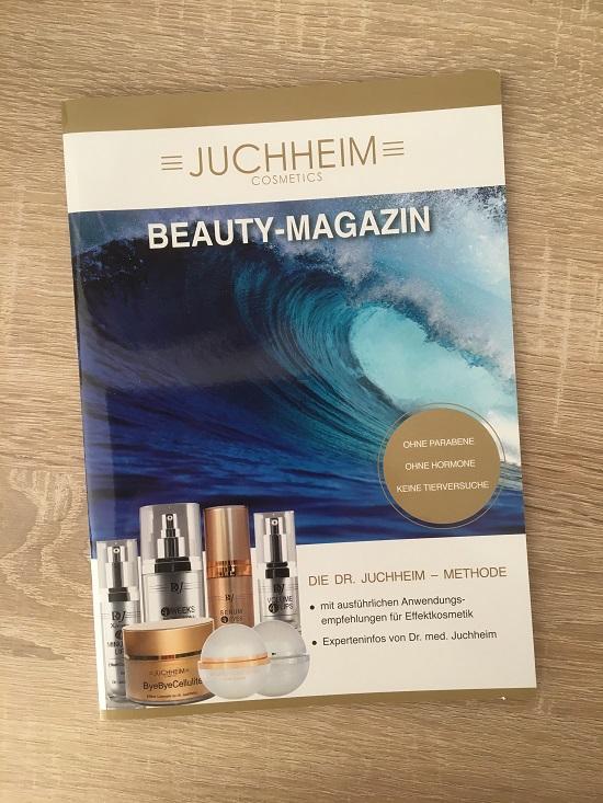 ByeByeCellulite Creme von Juchheim Beauty Magazin Vorderseite www.probenqueen.de