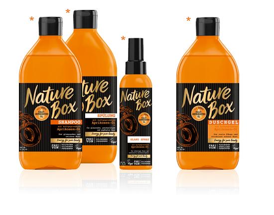 nature Box komplette Aprikose-Serie www.probenqueen.de