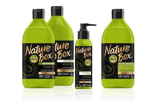 nature box komplette Avocado-Serie www.probenqueen.de