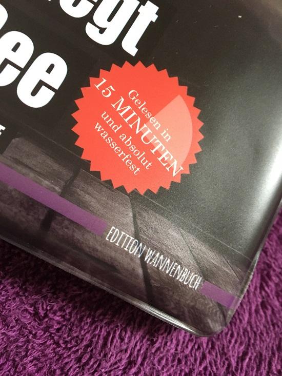 Still liegt der See Edition Wannbuch untere rechte Ecke Probenqueen