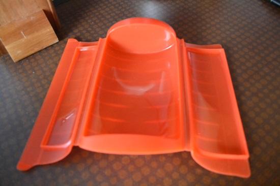 Pink.Your.Kitchen lekue Dampfbox classic rot geöffnet www.probenqueen.de