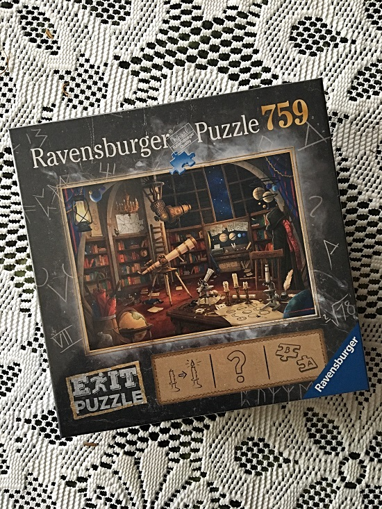 Ravensburger Exit Puzzle Sternwarte Verpackung